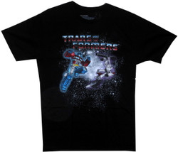 Image Closeup for Transformers T-Shirt - Epic Battle