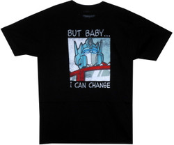 Image for Transformers T-Shirt - But Baby I Can Change