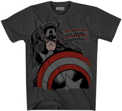 Image for Captain America T-Shirt - Deep Red