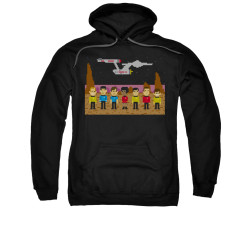 Image for Star Trek Hoodie - 8 Bit Crew