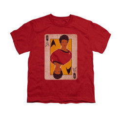 Image for Star Trek Youth T-Shirt - Queen