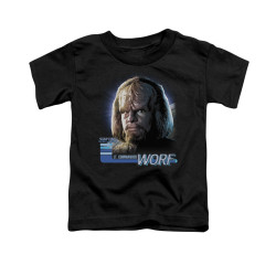 Image for Star Trek the Next Generation Toddler T-Shirt - Worf
