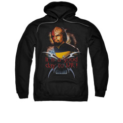 Image for Star Trek the Next Generation Hoodie - A Good Day to Die