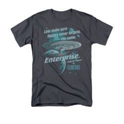 Image for Star Trek the Next Generation T-Shirt - History Never Forgets