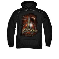 Image for Star Trek the Next Generation Hoodie - Klingon Crest
