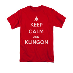 Image for Star Trek the Next Generation T-Shirt - Keep Calm and Klingon