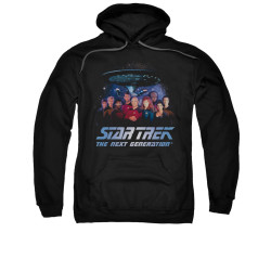 Image for Star Trek the Next Generation Hoodie - Space Group