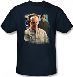 Image Closeup for Star Trek Enterprise T-Shirt - Doctor Phlox