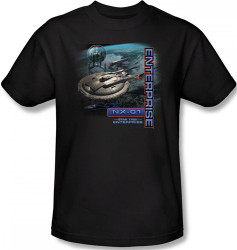 Image Closeup for Star Trek Enterprise T-Shirt - NX-01