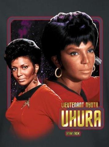 Star Trek T Shirt Lieutenant Uhura Nerdkungfu