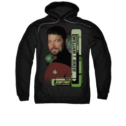 Image for Star Trek the Next Generation Hoodie - Commander William Riker