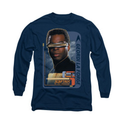 Image for Star Trek the Next Generation Long Sleeve Shirt - Geordi La Forge