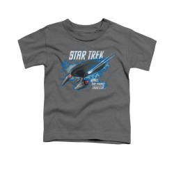 Image for Star Trek Toddler T-Shirt - the Final Frontier