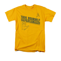 Image for Star Trek T-Shirt - Trek Yourself Before You Wreck Yourself