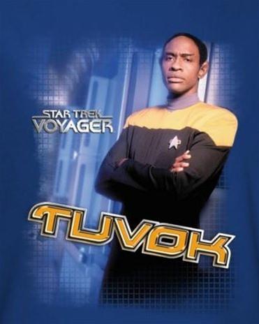 Image for Star Trek Voyager T-Shirt - Tuvok