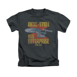 Image for Star Trek Kids T-Shirt - NCC1701 Animated