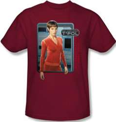 Image for Star Trek Enterprise T-Shirt - T'Pol