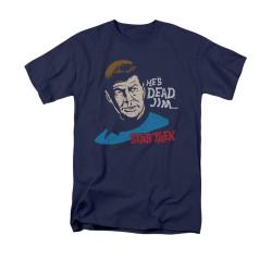 Image for Star Trek T-Shirt - He's Dead Jim