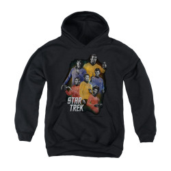 Image for Star Trek Youth Hoodie - Galaxy Glow