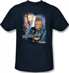 Image Closeup for Star Trek Voyager T-Shirt - Neelix