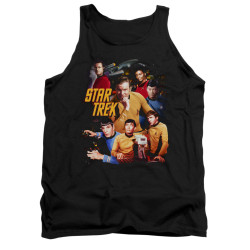 Image for Star Trek Tank Top - at the Controls