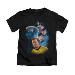 Image for Star Trek Kids T-Shirt - Among the Stars