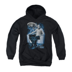 Image for Star Trek Youth Hoodie - the Captains Chair