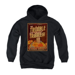 Image for Star Trek Youth Hoodie - Tribbles: the Movie Poster