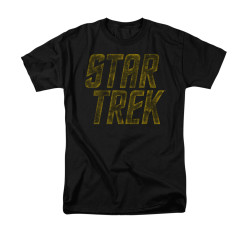 Image for Star Trek T-Shirt - Distressed Logo