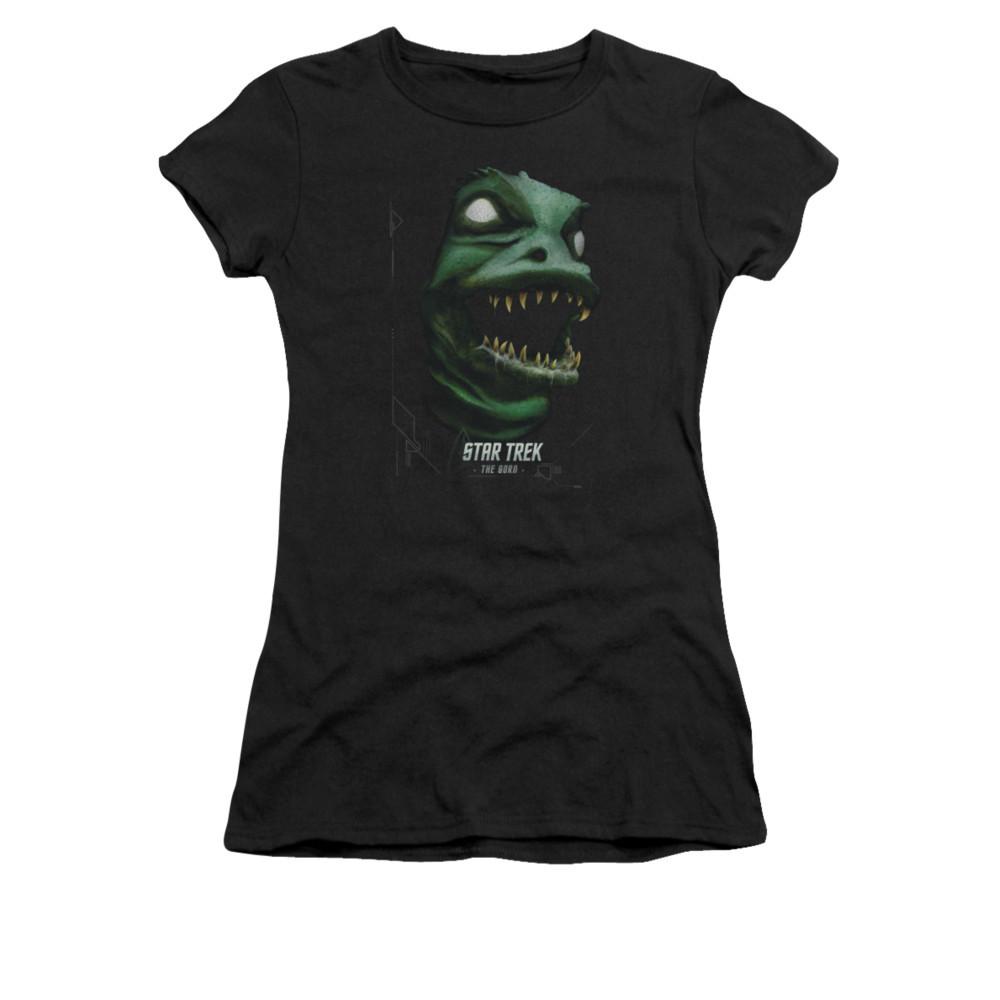a4d2d431b Star Trek Girls T-Shirt - the Gorn - NerdKungFu
