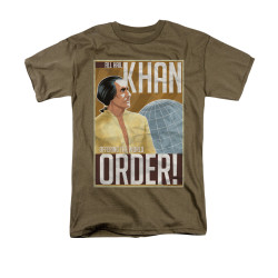 Image for Star Trek T-Shirt - All Hail Khan the New World Order