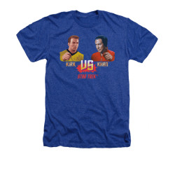 Image for Star Trek Heather T-Shirt - Kirk vs Khan