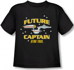 Image for Star Trek Toddler T-Shirt - Future Captain