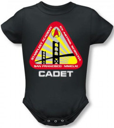 Image for Star Trek Baby Creeper - Starfleet Academy Logo