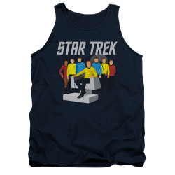 Image for Star Trek Tank Top - Vector Crew