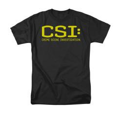Image Closeup for CSI Logo T-Shirt