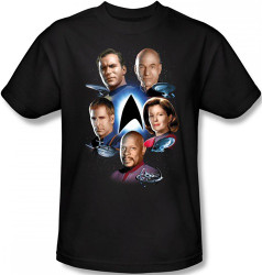 Image Closeup for Star Trek T-Shirt - Starfleets Finest