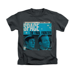 Image for Star Trek Kids T-Shirt - Final Frontier Cover