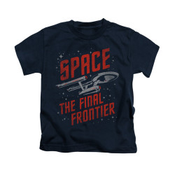 Image for Star Trek Kids T-Shirt - Space Travel