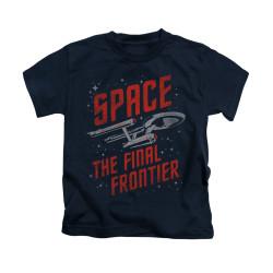 Image for Star Trek Kids T-Shirt - Space Travel