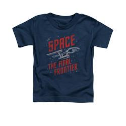 Image for Star Trek Toddler T-Shirt - Space Travel