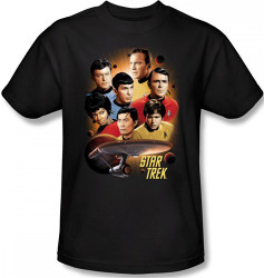 Image Closeup for Star Trek T-Shirt - Heart of the Enterprise