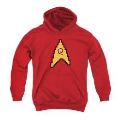 Image for Star Trek Youth Hoodie - 8 Bit Engineering