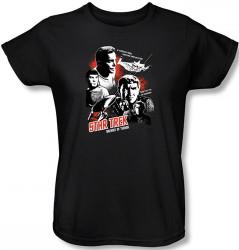 Image for Star Trek Womans T-Shirt - Balance of Terror