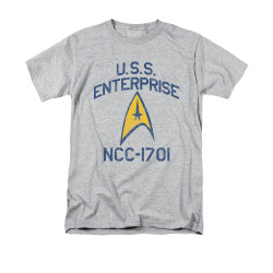 Image for Star Trek T-Shirt - Collegiate Arch