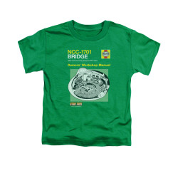 Image for Star Trek Toddler T-Shirt - Haynes Bridge Owners Manual