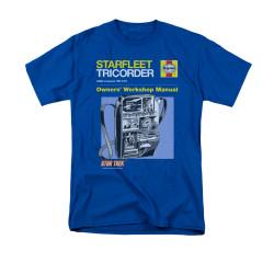 Image for Star Trek T-Shirt - Haynes Tricorder Owners Manual