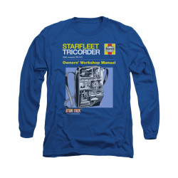 Image for Star Trek Long Sleeve Shirt - Haynes Tricorder Owners Manual