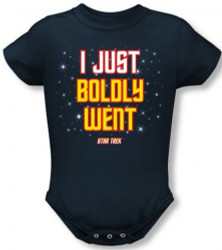 Image for Star Trek Baby Creeper - I Just Boldly Went