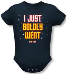 Image for Star Trek Baby Creeper - I Just Boldly Went